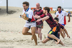 H6G64087 Ameland Invites v Baba Bandits (KevinScott.Org) Tags: kevinscottorg kevinscott rugby rc rfc beachrugby ameland abrf17 2017 vets veterans netherlands