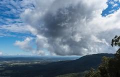 Tamborine Mountain (dustaway) Tags: landscape cloudscape clouds sky view outlook lookout vista tamborinemountain australianmountains hendersonsknob cloudshadow winter poststorm distance albertvalley sequeensland queensland australia australianlandscape