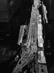 Milano, 2017 (Sergio_MI) Tags: milano blackandwhite contrast shadows lights birdseye urban street