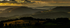 Win Hill, Summer Evening (Peter Quinn1) Tags: peakdistrict derbyshire darkpeak layers evening summerevening winhill edale kinderscout millstoneedge mist shadows