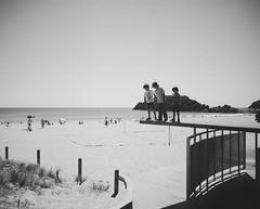 I dare you (scottlittle.nz) Tags: 120mm pentax67 kodak epsonv700 summer beachlife water brothers newzealand tauranga film