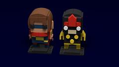 Ms. Marvel Brickhead #1 (keiththelegokid) Tags: nova msmarvel marvel comics brickheadz keiththelegokid lego superheroes