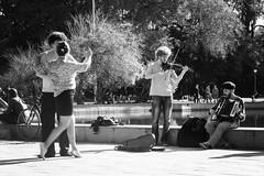 Tango (cacoshs) Tags: tango argentina brasil portoalegre redenção violino violin acordeon gaita sanfona praça plaza platz square dance dança casal monochrome black white bw blackwhite pretoebranco preto branco negro blanco blancoynegro