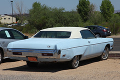 1972 Plymouth Fury II (twm1340) Tags: 1972 plymouth fury furyii baby blue white vinyl top mopar parkplace cottonwood az