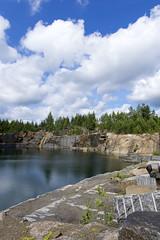 Spectrolytic mining (jannaheli) Tags: suomi finland lappeenranta ylämaa mättö nikond7200 luontovalokuvaus naturephotography kesä summer sunny sunnyday luonto nature maisema landscape quarry louhimo spectrolyticmining spektroliittikaivos