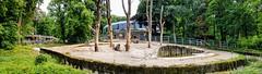 Zoo Wuppertal: Elephant Enclosure (hhschueller) Tags: wuppertal zoo nrw germany duitsland deutschland