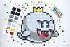 M&M Mosaic -BOO Nintendo (Kitslams Art) Tags: nintendo mm mosaic pixel art nes snes 8bit gamers video games mandm mosaics pixelart toad shyguy mushroom samus aran megaman mega man bowser boo baby mario super bros mosaicart mosaicartist mmmosaic rubikscubemosaic artwithitems artwithcandy artwithmms artwithrubikscubes rubikscubeart rubiksart mosaicdrawing drawingmosaic kitslamsart kitslam videogameart videogameartist videogamepixelart 8bitart 8bitartist nintendoart nintendoartist nintendopixel snesart nesart marioart marioartwork mariobrosart
