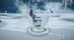 Teacup Heaven. (kylenedaines (Busy In RL)) Tags: wings fae faerie fairy winterwonderland dreams
