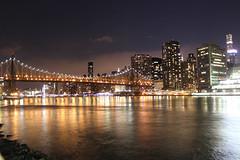 Rippling Waters (tracktwentynine) Tags: newyork newyorkcity rooseveltisland queensborobridge