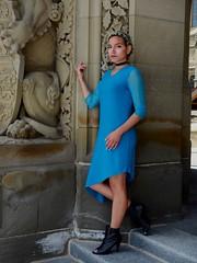 Shelby (AlanW17) Tags: ottawa olympusem5mk2 model fashion style beautifulwoman beautiful stunning brandpromoter street parliamenthill downtown micro43rds shelbydelfranko