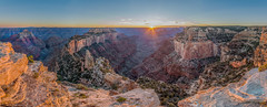 The Great Wotan (Dancing.With.Wolves) Tags: grand canyon desert arizona sunset sunrise backpacking fall 2015 2016 2017 panorama cliffs sun star wotan river colorado erosion sand high temple shiva bhrama vishnu ocean ancient life nature hiking landscape new