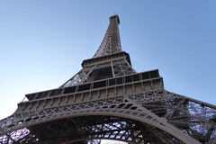 the Eiffel Tower (Muddy LaBoue) Tags: iledefrance monuments towers iconicarchitecture 1889 2017 july worldexposition eiffeltower paris france attractions tourism panasoniclumixdmctz60 summer tower architecture