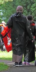 Raincoat (Warm Clothes Fetish) Tags: niqab hijab burka chador girl scarf