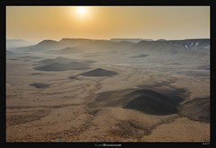 Black Hills at Sunrise (Ilan Shacham) Tags: landscape view scenic desert sunrise hills black fineart fineartphotography makhtesh ramon negev israel