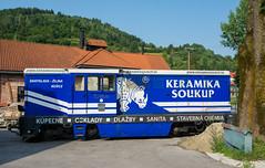 Cierny Balog historical railway.
