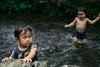 kamigamojinja 上賀茂神社 (Tok Tik) Tags: kamigamojinja 上賀茂神社 chldren river play sony a7r sigma85mmart 85mm japan kyoto