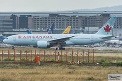 Air Canada Boeing 777-233(LR) C-FIIUJ (719805) (Thomas Becker) Tags: aircanada aca boeing 777233lr b777 777 b77l cfiuj staralliance cn352442ln 679201107301107ac845calgaryyycfraportflughafenairportaeroportaeropuertoaeroportofraeddffrankfurtplanespottingaircraftairplaneavionaeroplanoaereo飞机vliegtuigaviaoаэропланsamolotflugzeuggermanydeutschlandhessenrheinmainni thomas becker 170720 taxiing geotagged geo:lat=50039523 geo:lon=8596970 aerotagged aero:airline=aca aero:man=boeing aero:model=777 aero:series=200 aero:special=lr aero:tail=cfiuj aero:airport=eddf