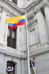 2017 Colombia Flag Raising-019 (Philly_CityRep) Tags: cityofphiladelphia colombia flag raising