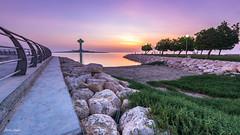 Corniche Khobar KSA (markjasminphotography) Tags: landscape seascape morning sunrise wide nature khobar ksa