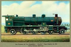 Chemin de fer de Paris à Orléans (France) - PO 4-6-2 steam locomotive Nr. 231 - 4501 (Société Alsacienne de Constructions Mécaniques, Mulhouse 1907) (HISTORICAL RAILWAY IMAGES) Tags: po france paris orleans steam locomotive 4501 231 sacm mulhouse