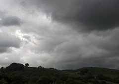 Stormy days (Scozmo's Photery - On my phone weekdays) Tags: treeonthehill trees landscape wales caerphilly graigyrallt clouds storms stormy weather