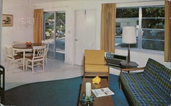 Mid Mari Apartments, Pompano Beach, Florida (SwellMap) Tags: postcard vintage retro pc chrome 50s 60s sixties fifties roadside midcentury populuxe atomicage nostalgia americana advertising coldwar suburbia consumer babyboomer kitsch spaceage design style googie architecture
