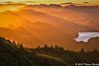 God Rays on Mt. Tamalpais