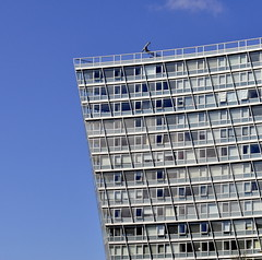 Lovely lines (Maria .... on here to learn and be inspired.) Tags: glass buildings skylines outdoors sculptures