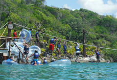 Side-Tracked (Jerry Bowley) Tags: rivieramaya xelha ecopark floats ropescourse allinclusive