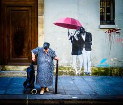 Distinction.jpg (Klaus Ressmann) Tags: klaus ressmann omd em1 fparis france peoplestreet summer candid elderly flcpeop streetphotography unposed woman klausressmann omdem1