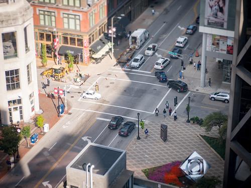City Street Miniature Scene #jcutrer
