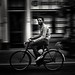 cyclists in black & white 5