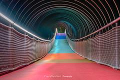 Colored bridge (mr.wohl) Tags: brücke oberhausen color bunt buntebrücke nrw pott ruhrgebiet kaisergarten