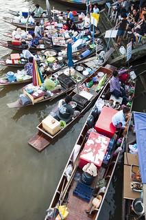 marché flottant amphawa - thailande 6