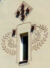 Barcelona - Navarro i Reverter 009 c (Arnim Schulz) Tags: modernisme barcelona artnouveau stilefloreale jugendstil cataluña catalunya catalonia katalonien arquitectura architecture architektur spanien spain espagne españa espanya belleepoque window fenster ventana finestra fenêtre art arte kunst baukunst modernismo gaudí liberty ornament ornamento