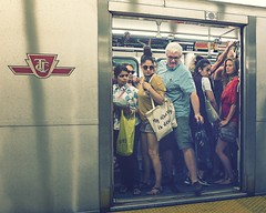 let me outta here! (-liyen-) Tags: subway toronto crowded squeeze urban candid fujix100t challengeyouwinner cyunanimous mpt610 matchpointwinner