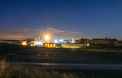 Hatfield Colliery by Night, October 2015. (Michael's pics... (The Amateur Wanderer 28DL)) Tags: hatfield main colliery south yorkshire coal field british national board ncb