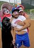 IMG_6933 (danimaniacs) Tags: hot sexy man guy clown payasosla sistersofperpetualindulgence costume dragqueen beard scruff smile hat cap bulge makeup