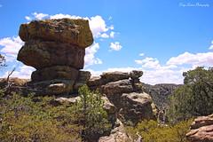Chiricahua National Monument (Paige Larissa Photography) Tags: nature landscape desert arizona roadtrip photography like comment follow deserts dirt rock rocks boulder boulders mountain mountains horizon az outdoor outdoors