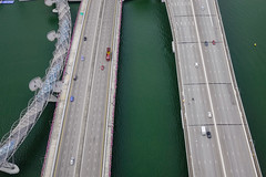 Aerial view of highways and bridges in Singapore (phuong.sg@gmail.com) Tags: above aerial architecture asia asian bay big bridge business car city color colorful commercial day freeway highway huge landscape large many metropolis modern motorway new outdoor over overpass road singapore space steel structure system top traffic transport transportation travel urban vehicle view world