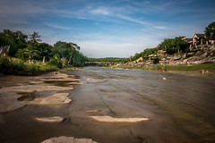 Blanco River (Jims_photos) Tags: water wimberleytexas texas unitedstates outdoor outside adobelightroom adobephotoshop shadows sunnyday daytime jimallen jimsphotos jimsphotoswimberleytexas lightroom landscape cloudy clouds nopeople nikond750