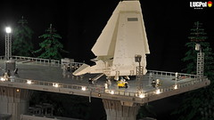 075 - Getting ready  for take-off (dmaclego) Tags: lego star wars forest sanctuary moon endor project return jedi moc