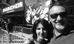 (patdebaz) Tags: rammstein festival arenes nimes 2017 concert noir et blanc nb bw black white