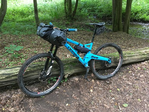 Orange Five goes bikepacking