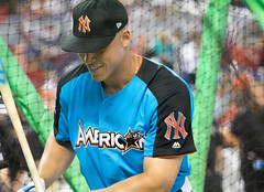 Yankees slugger Aaron Judge takes batting practice before the 2017 T-Mobile Home Run Derby. (apardavila) Tags: asg hrderby aaronjudge allstargame mlb majorleaguebaseball marlinspark newyorkyankees tmobilehomerunderby ballpark baseball battingpractice sports stadium