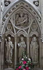 [52432] Horsforth : Reredos (Budby) Tags: horsforth church leeds westyorkshire altar reredos