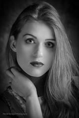 b&w portrait (MichalKondrat) Tags: migawka portret lampa 100plenermigawki błysk modelka strobbing aleksandrapopiela czarnobałe kobieta bw migawki modelki błyskanie rzeźnia stararzeźnia studio 100 plener stara d300s 135mm sigma art