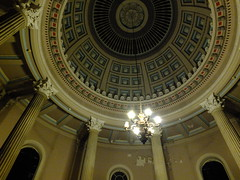 The Chapel Ceiling (failing_angel) Tags: 081016 london kensingtonchelsea bromptoncemetery monthofthedead londonmonthofthedead cemetery magiclantern throughaglassdarkly mervynheard phantasmagoria