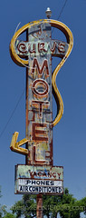 Curve Motel (Patinagal) Tags: motel signage sign patina decay vintage relic