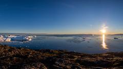 The Midnight Sun (802701) Tags: arctic arcticcircle diskobay greenland ilulissat jacobshaven jakobshavn qaasuitsup icebergs icefjord midnightsun nature outdoors themidnightsun iceberg